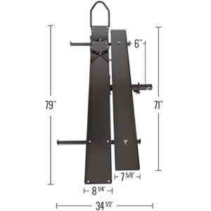 Black Widow MCC-600 HeavyDutySteelMotorcycleCarrier–600lb.Capacity