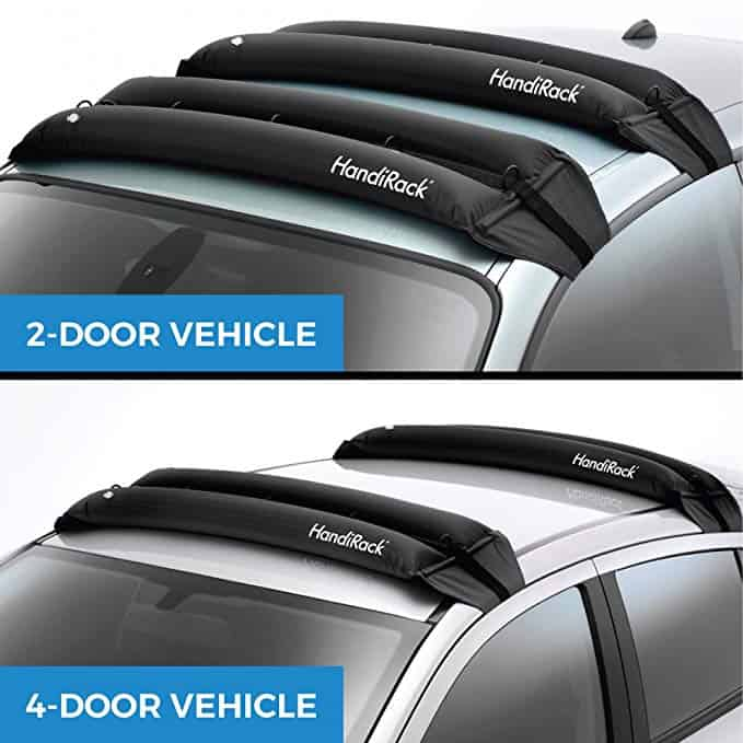HandiRack Inflatable Kayak Rack for 2-Door and 4-Door Vehicles