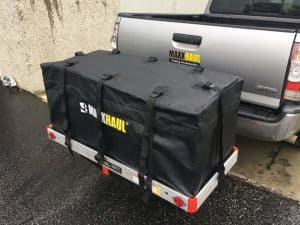 MaxxHaul 70209 Hitch Mount Waterproof Cargo Carrier Bag