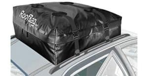 RoofBag 100% Waterproof, Made in USA, Premium Triple Seal for Maximum Protection, 2 Yr Warranty, Fits ALL Cars: With Side Rails, Cross Bars or No Rack,...