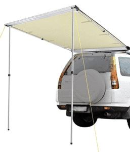 Yescom 4.6x6.6' Car Side Awning Rooftop Pull Out Tent Shelter