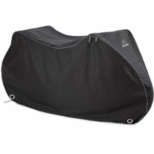 DAVANDI Bike Cover - Waterproof Outdoor Bicycle Storage for 1 Or 2 Bikes - Heavy Duty Ripstop Material - Offers Constant Protection for All Types of Bicycles All Through The 4 Seasons