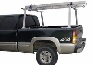 "Erickson 07705 Aluminum Truck Rack, 66.4"" x 12.6"" x 34"" Assembled, 800lb Rated"
