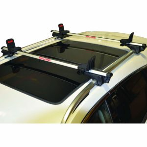Malone Big Foot Pro Universal Car Rack Canoe Carrier with Bow and Stern Lines