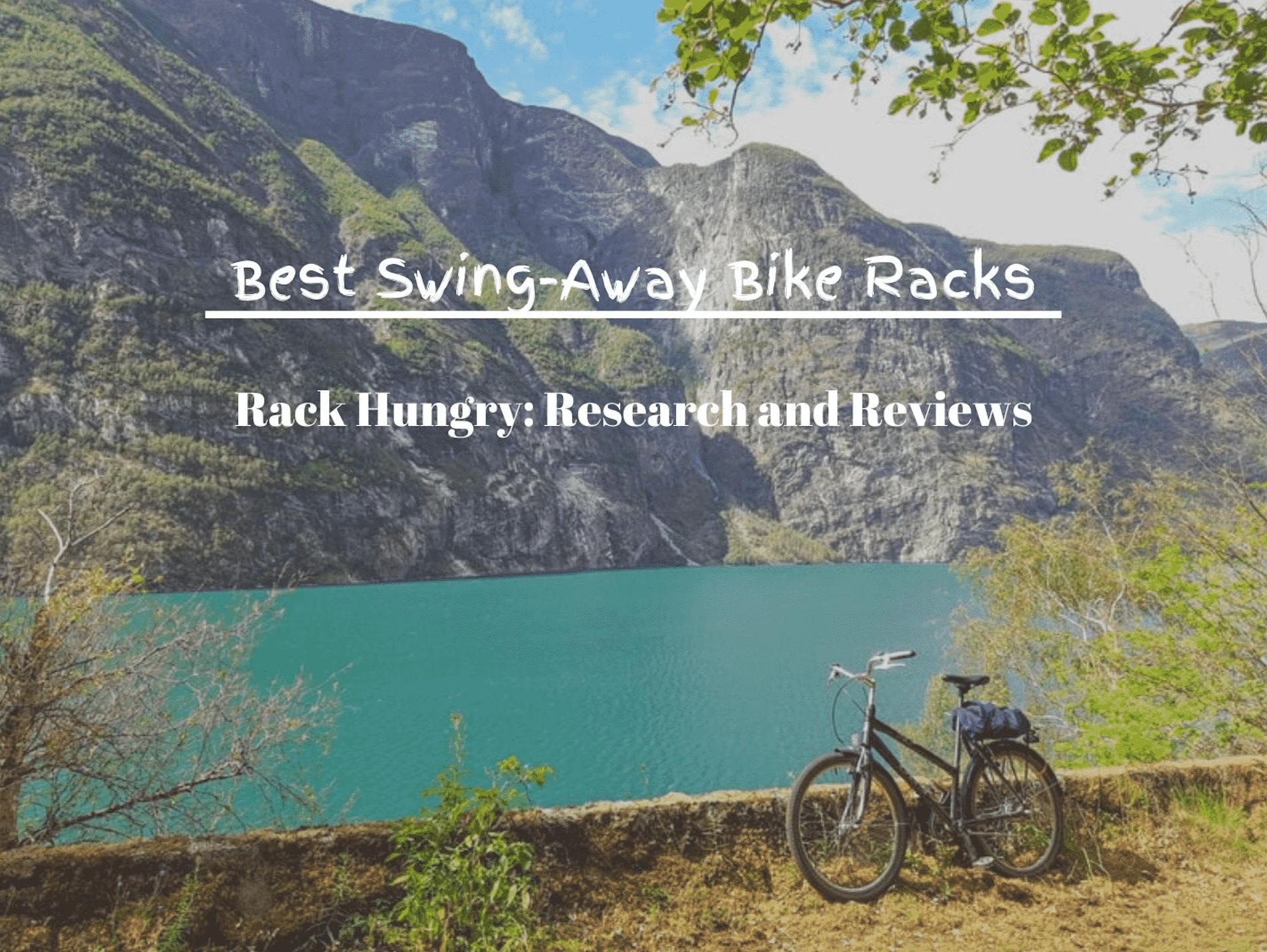 best swing away bike racks